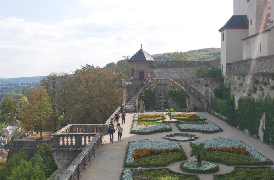 Würzburg fürstengarten hell