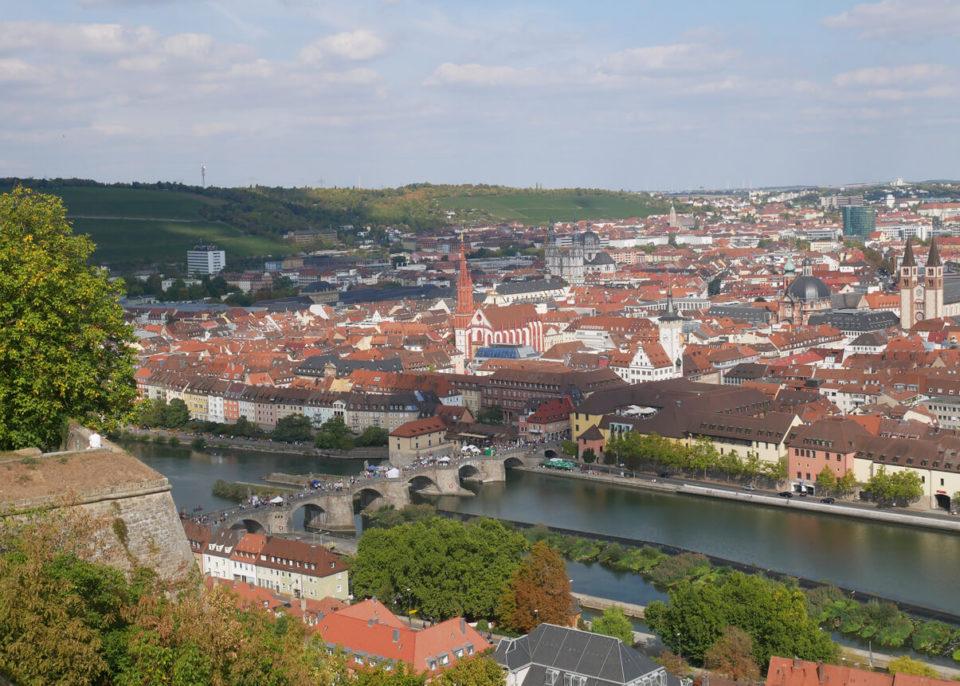 Würzburg festung marienberg ausblick