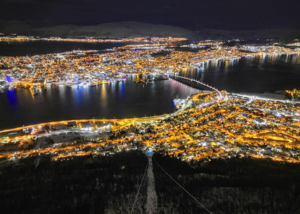 Tromsö von oben seilbahn