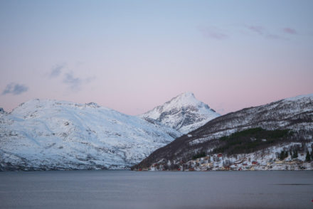 Troms Norwegen Landschaft