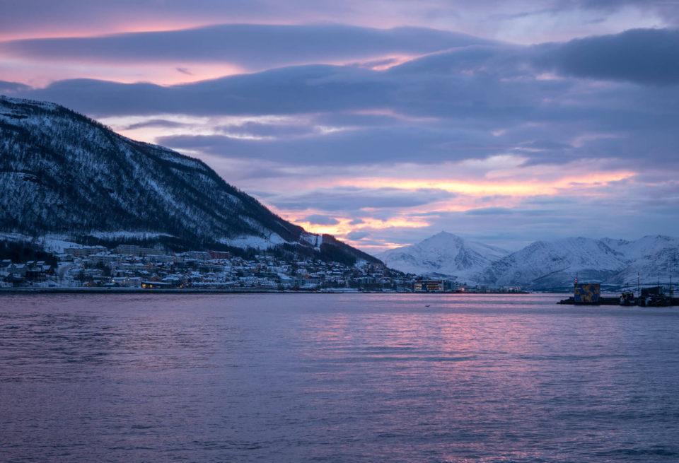 Tromso Polarnacht Tag