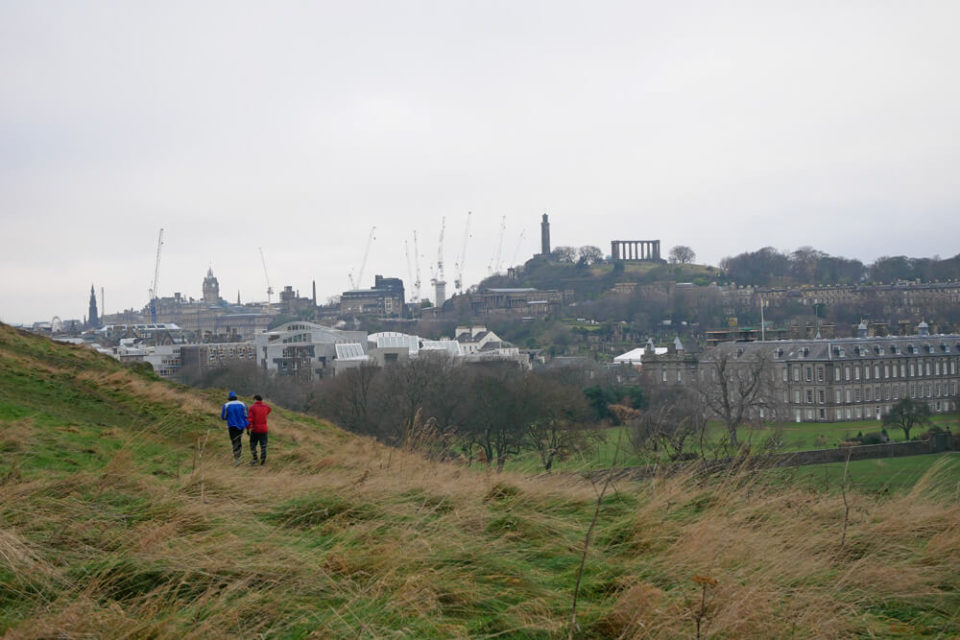 edinburgh city arthurs seat walk
