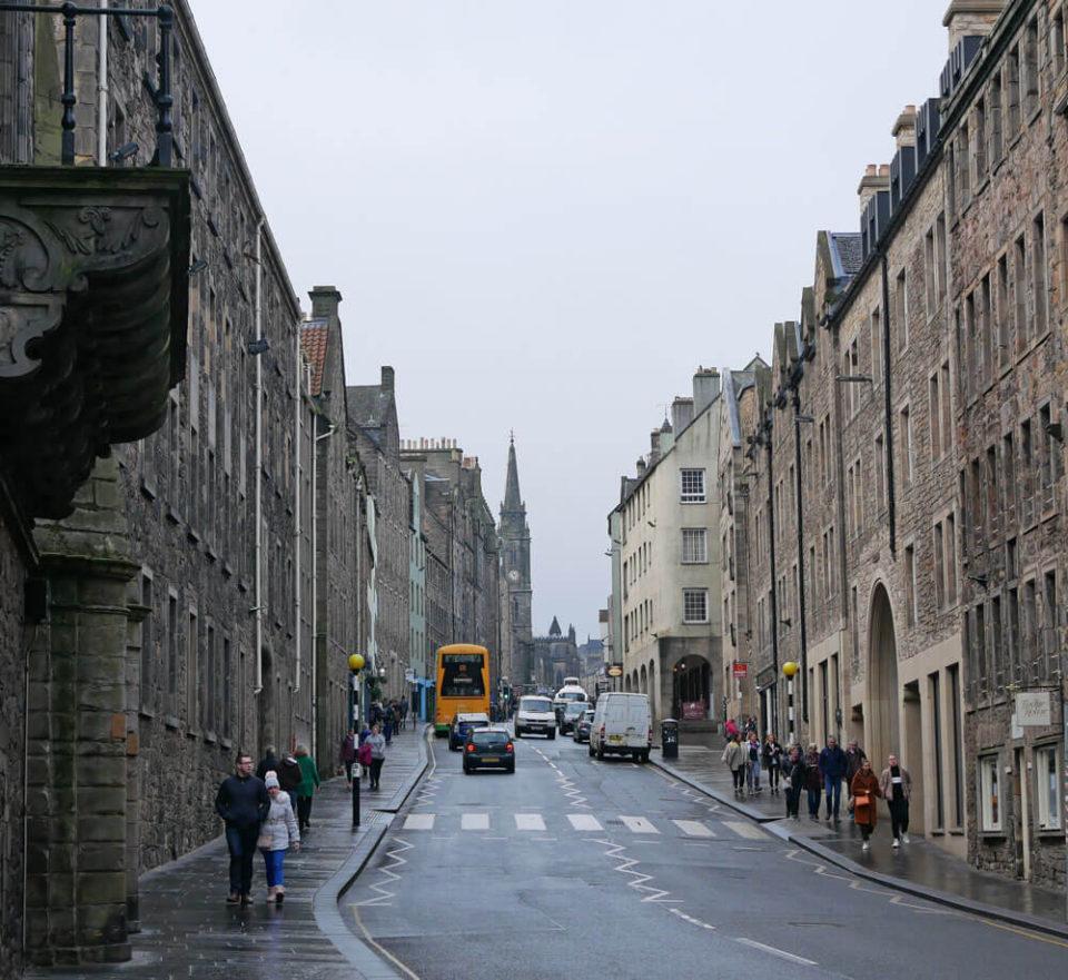 edinburgh streets januar