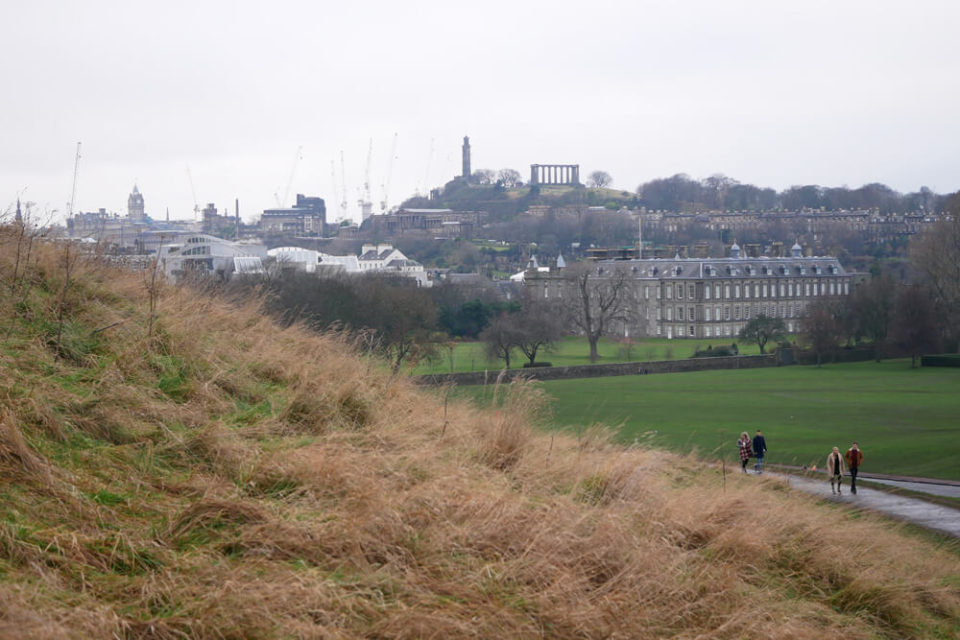 edinburgh walk arthurs seat