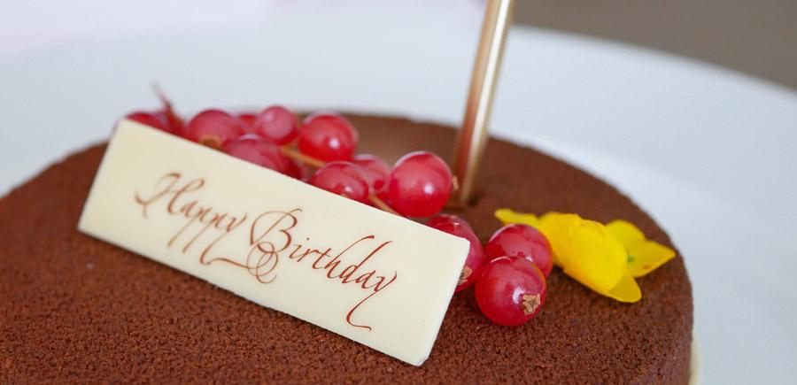birthday cake conrad hilton