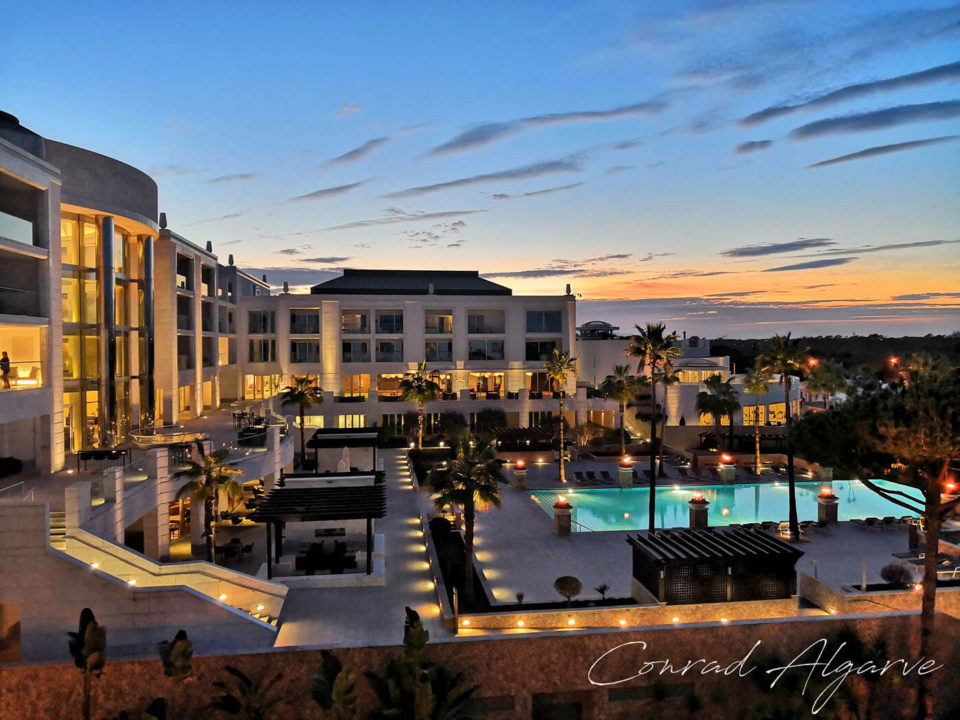 conrad algarve hotelzimmer ausblick
