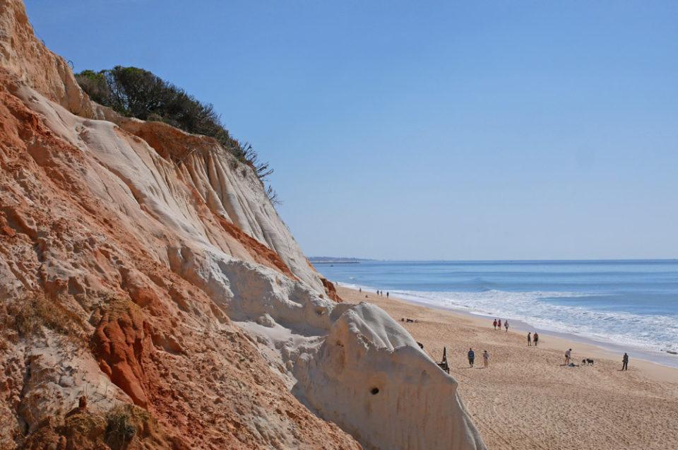 portugal algarve steilküste