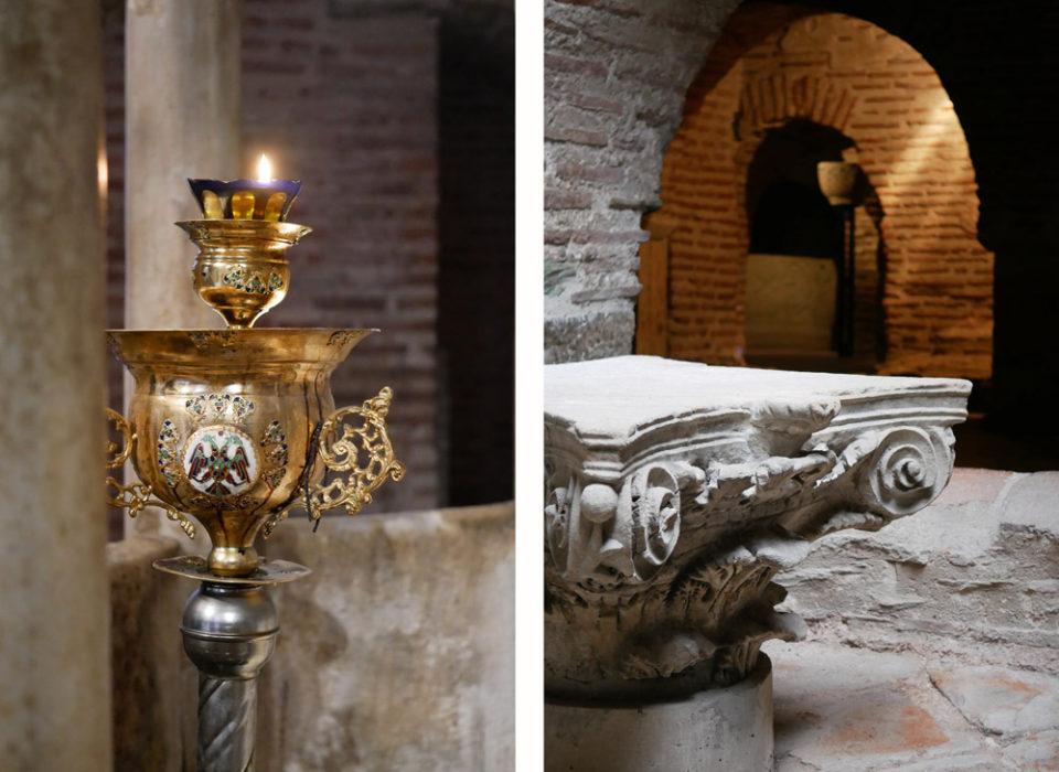 thessaloniki kirche krypta