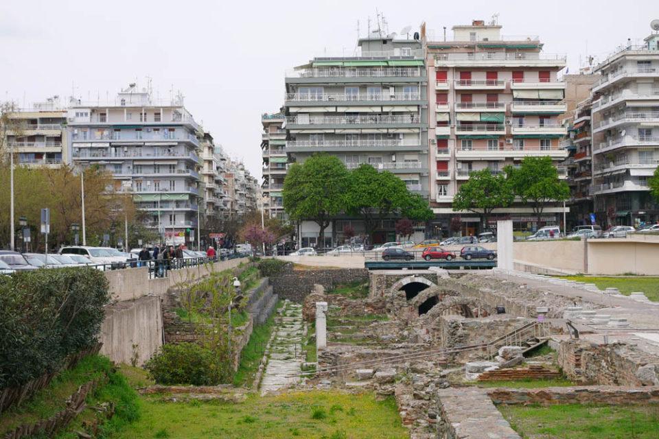 thessaloniki ruinen