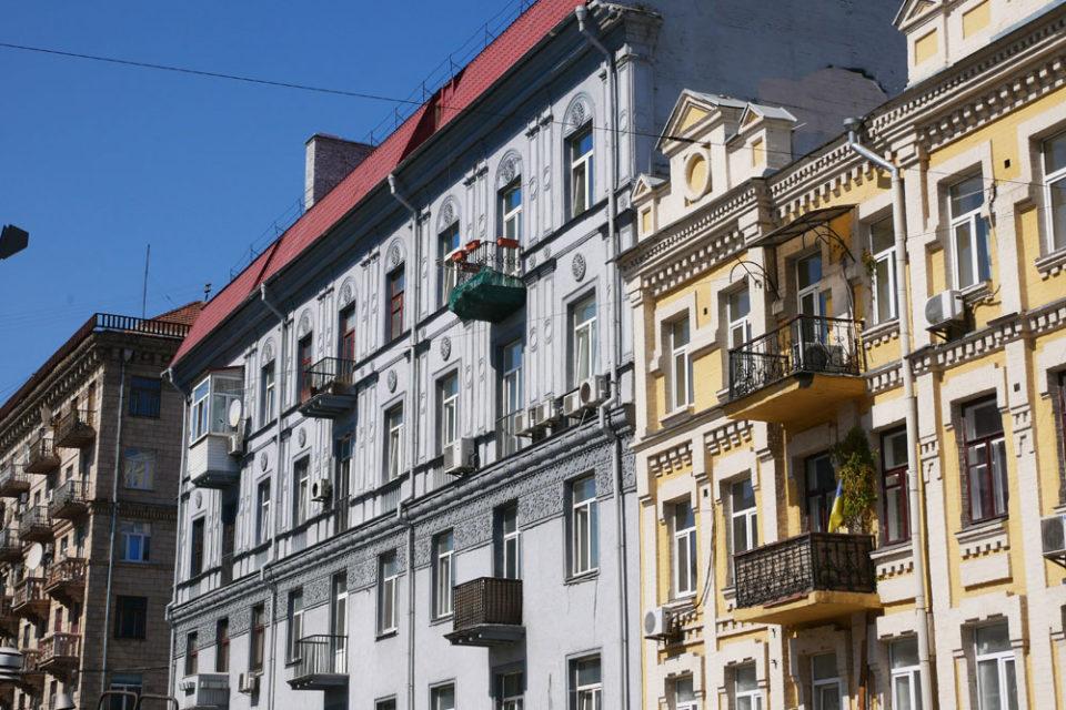 Podil Kiew Häuser